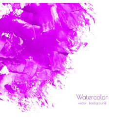 fuchsia magenta lilac marble watercolor texture vector image