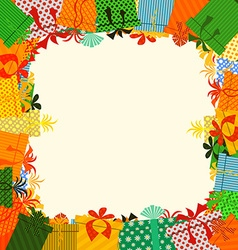 gifts box vector image vector image