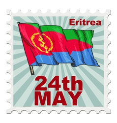 national day of Eritrea vector image