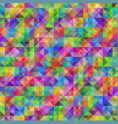 rainbow geometric seamless pattern of vector image