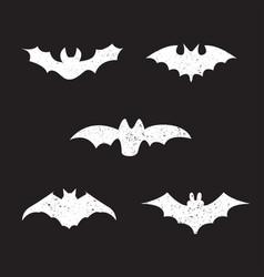 Silhouettes bats vector
