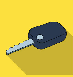 car keycar single icon in flat style vector image vector image
