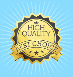 High quality best choice stamp golden label reward vector