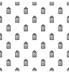Label big sale pattern cartoon style vector image vector image