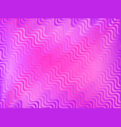 Colorful gradient with wavy stripes trendy vector
