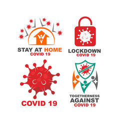 Corona virus disease 19 template pandemic vector