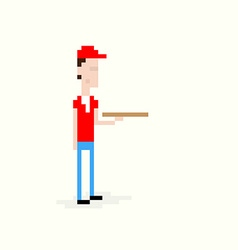 Delivery Boy vector image