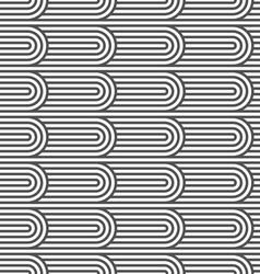 Flaked striped seamless pattern vector image