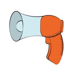 Megaphone loudspeaker sound marketing vector