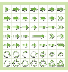 universal arrows vector image