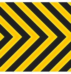 Yellow and black marking vector