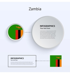 Zambia Country Set of Banners vector image