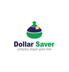 Dollar saver vector