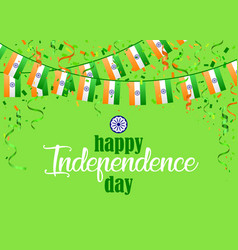 indian independence day 1 vector image