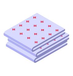Kitchen handkerchief icon isometric style vector