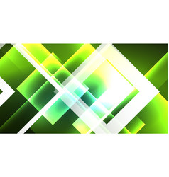 Neon geometric abstract background in hipster vector