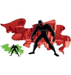 Superhero Abstract 2 vector image