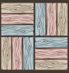 wood floor tiles pattern seamless texture wooden vector image