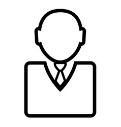 businessman icon image vector image vector image