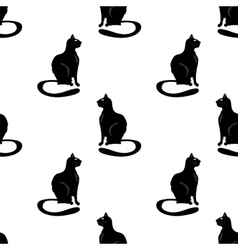 Cat Seamless Pattern vector image vector image