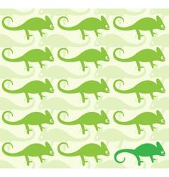 Wallpaper images of chameleon vector image