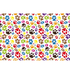 Animal paws vector image vector image