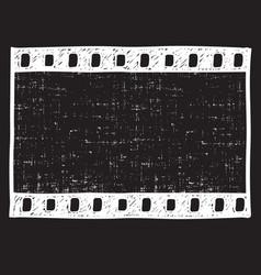 printfilm strip background empty film frame vector image