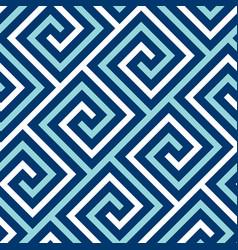 Concept blue and white sea seamless pattern vector