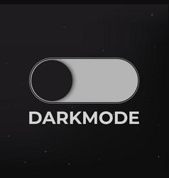 Dark mode on vector