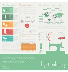 Economy and industry Light industry Industrial vector