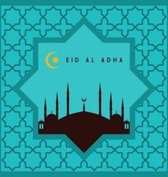 Eid-ul-adha mubarak vector image