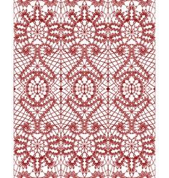 beautiful delicate openwork lace vector image vector image