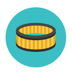 car air filter icon vector image vector image
