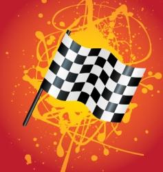 flag splat vector image