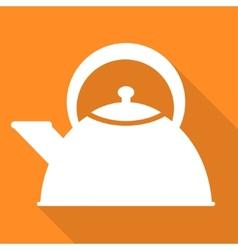 teapot icon coffee pot symbol vector image