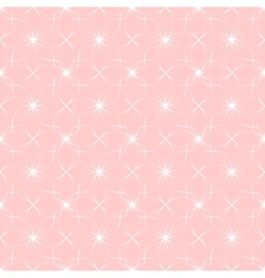 abstract geometric pink pattern with ethnic vector image