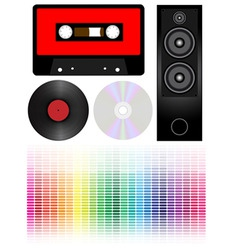 Audio vector