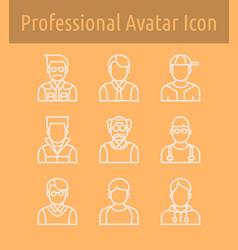 Avata line icon2 vector