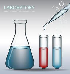 Laboratory vector image