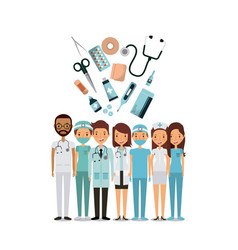 Medicine professional people vector