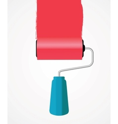 Paint roll icon vector