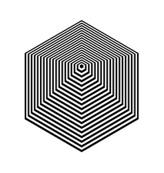 Pyramid shape vector
