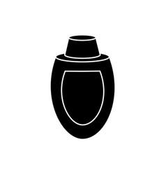 restaurant sauce bottle vector image