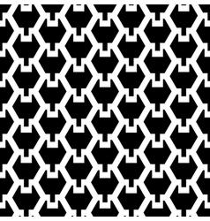 Seamless hexagonal texture vector image