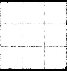 Third Grid Map vector image
