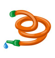 watering hose vector image
