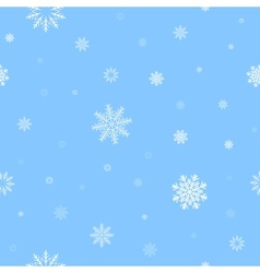 white snow pattern vector image