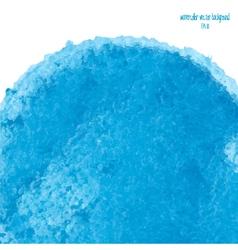 blue watercolor circle 3 vector image vector image