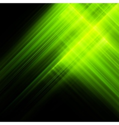 Bright luminescent green surface EPS 10 vector image