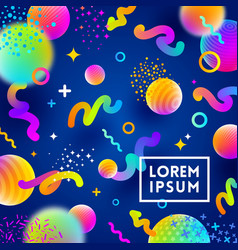 abstract festive multicolored background vector image